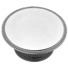 Wilton Armetale Flutes and Pearls Cake Stand