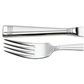 Ovations by Oneida Amsterdam 53-Piece Stainless Stell Flatware Set, Service for 8