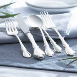 Towle Legato Sterling 4 - Piece Flatware Set