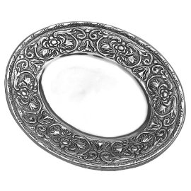Wilton Armetale William and Mary Small Oval Tray