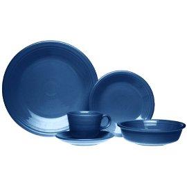 Fiestaware Cobalt 830 5-Piece Place Setting