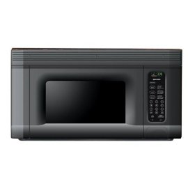 Sharp R-1405 1.4 Cubic Foot 950 Watt Over The Range Microwave, Black