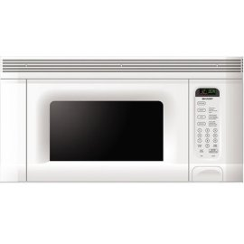 Sharp R-1406 950-Watt 1.5 Cubic Foot Over-the-Range Microwave, White