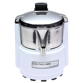 Waring PJE401 Juice Extractor, Quite White/Stainless Steel