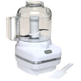 KitchenAid KFC3100WH Chef Series Food Chopper, White