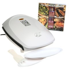 George Foreman GR26CB Family Size Plus Grill with Cookbook