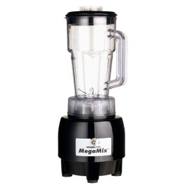 Waring HPB300BK Mega Mix Commercial Bar Blender, Black