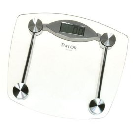 Taylor 7506-4192 Precision Tech Lithium-Battery Electronic Glass/Chrome Scale