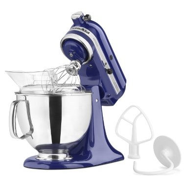 KitchenAid KSM150PSBU Artisan Series 5-Quart Mixer (Cobalt Blue)