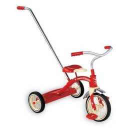 "10"" Classic Red Tricycle"