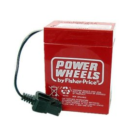 Power Wheels 6 Volt Rechargeable Battery