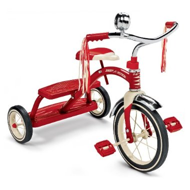 Radio Flyer Classic Dual Deck Tricycle (Red)