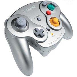 GameCube WaveBird Controller- Platinum