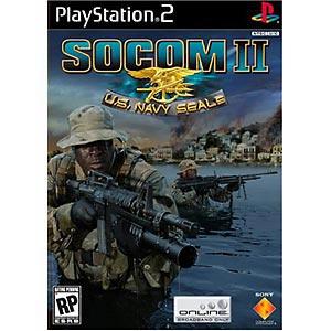 SOCOM II: U.S. Navy SEALs - PlayStation 2