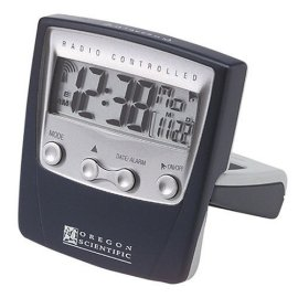 Oregon Scientific RM832 ExactSet Clock Travel Alarm Clock