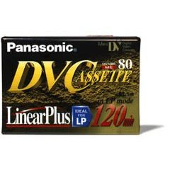 PANASONIC AY-DVM80EJ 80-minute DVC Linear Plus DV Tape