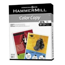 Hammermill Color Copy Paper, 11in. x 17in., 28 Lb., 96 Brightness, Ream Of 500 Sheets