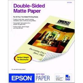 Epson Letter Doublesided Matte Paper for Epson Inkjets