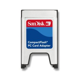 SanDisk PC Card Adapter for CompactFlash Memory Cards
