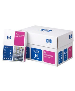 Hewlett-Packard Multipurpose Paper, 8 1/2in. x 11in., 20 Lb., 92 Brightness, 3-Hole Punched, Ream Of 500 Sheets