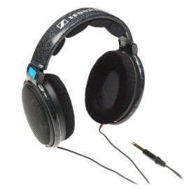 Sennheiser HD600 Traditional Over-Ear Open Dynamic Hi-Fi Professional Stereo Headphones