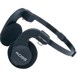 Koss SportaPro Traditional Collapsible Headphones with Carry Case