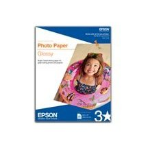 Epson 8.5 X 11IN Letter Photo Paper
