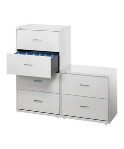 "HON(R) 400, 30"" Wide Lateral File, 4 Drawers, 53 1/4""H x 30""W x 19 1/4""D, Putty"