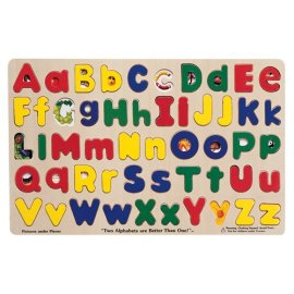 ABC Puzzle: Upper & Lower Case