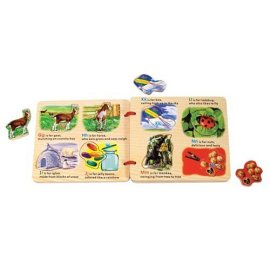 Wooden Magnetic ABC Book