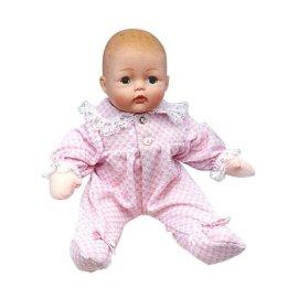11 Pink Check Huggums Doll