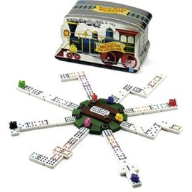 Mexican Train Game In A Tin