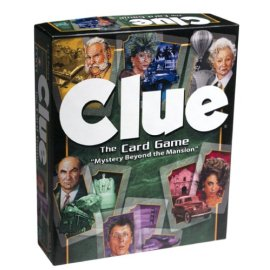 Clue- The Card Game Mystery Beyond The Mission