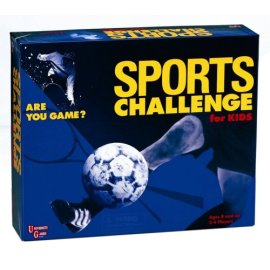 Sports Challenge for Kids Board Game