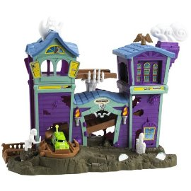 Matchbox Hero City Haunted House Playset