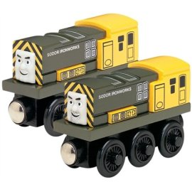 Thomas & Friends Iron 'Arry and Bert Engines