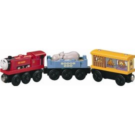 Thomas & Friends Ivo Hugo with Zoo Cars