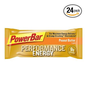 PowerBar Original Performance Bar (Peanut Butter, Box of 24)