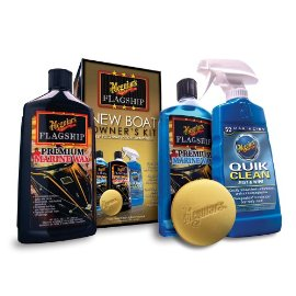 Meguiar''s - New Boat Owners Maintenance Kit - Cleaners & Waxes