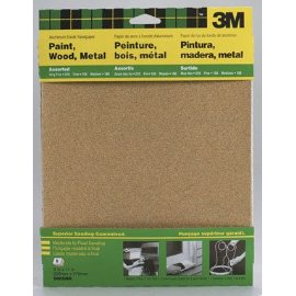 3M - Assortment Production Sandpaper 5Pk