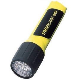 Streamlight 68202 ProPolymer 4AA Flashlight with 7 Ultra Bright White LEDs
