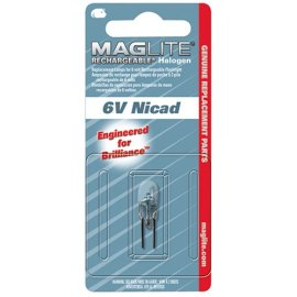 Mag Instrument LR00001 Replacement Halogen Lamp for Mag-Lite Rechargeable Flashlight