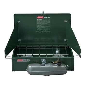 Coleman Dual Fuel 2-Burner Stove