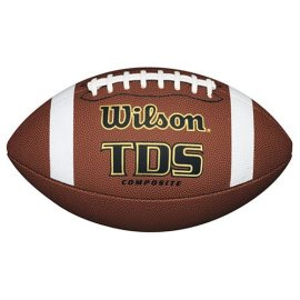Wilson TDS Official High School Composite Leather Football