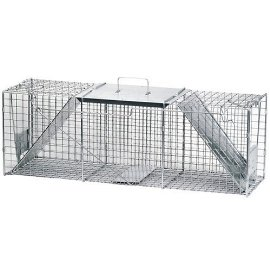 36 x 11 x 11-In. Animal Cage Trap