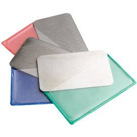 DMT D3EFC Extra-Fine/Fine/Coarse Diamond Sharpening Cards (3-Pack)