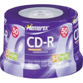 Memorex 700MB/80-Minute 52x Data CD-R Media