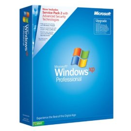 Microsoft Windows XP Professional Upgrade with Service Pack 2
