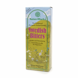 Swedish Bitters by NatureWorks (33.8 oz. Liquid)