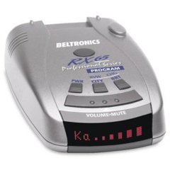 Beltronics (Bel) Pro RX65 Radar Detector (Red Display)